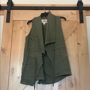 Draped Vest